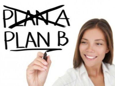 Pare e pense antes do Plano B