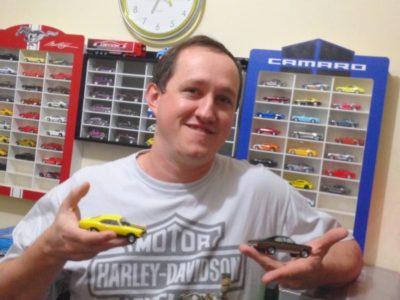 O hobby de colecionar carrinhos se tornou um bom negócio