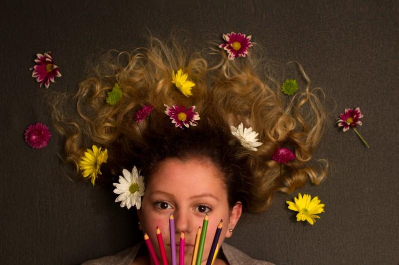 1 menina e 365 cabelos