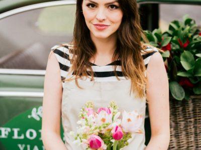 Uma maneira criativa e encantadora de vender flores