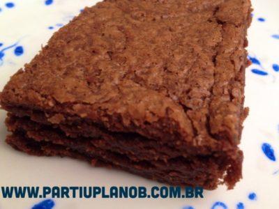 Brownie simples de Nuttela