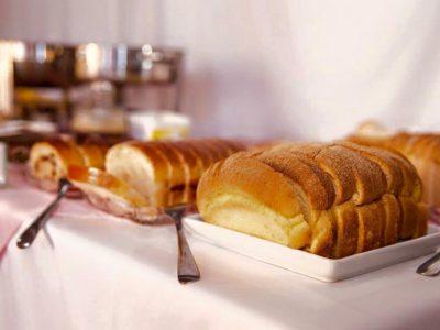 Depois do susto com o desemprego,o sucesso com os pães