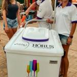 Casal que vende espumante na praia vai expandir negócio com franquias
