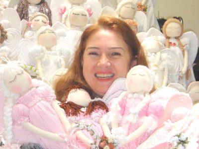 Bonecos de anjos para dar esperança a quem precisa
