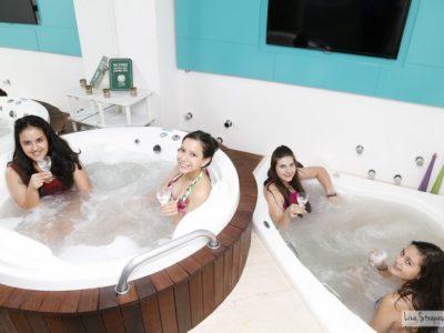 Aniversário no spa! Relaxamento e diversão para adolescentes