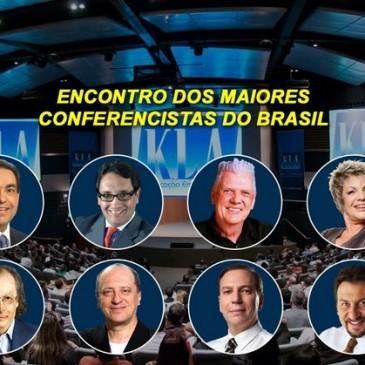 Um dia inteiro com os maiores conferencistas do Brasil