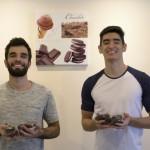 O administrador e o engenheiro escolheram brownies para empreender