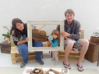 O artesanato com pallets uniu ainda mais o casal que precisava de um Plano B