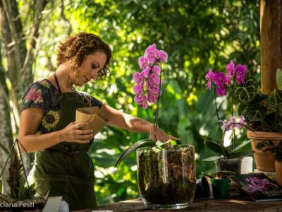 De jornalista a jardineira famosa em todo o Brasil