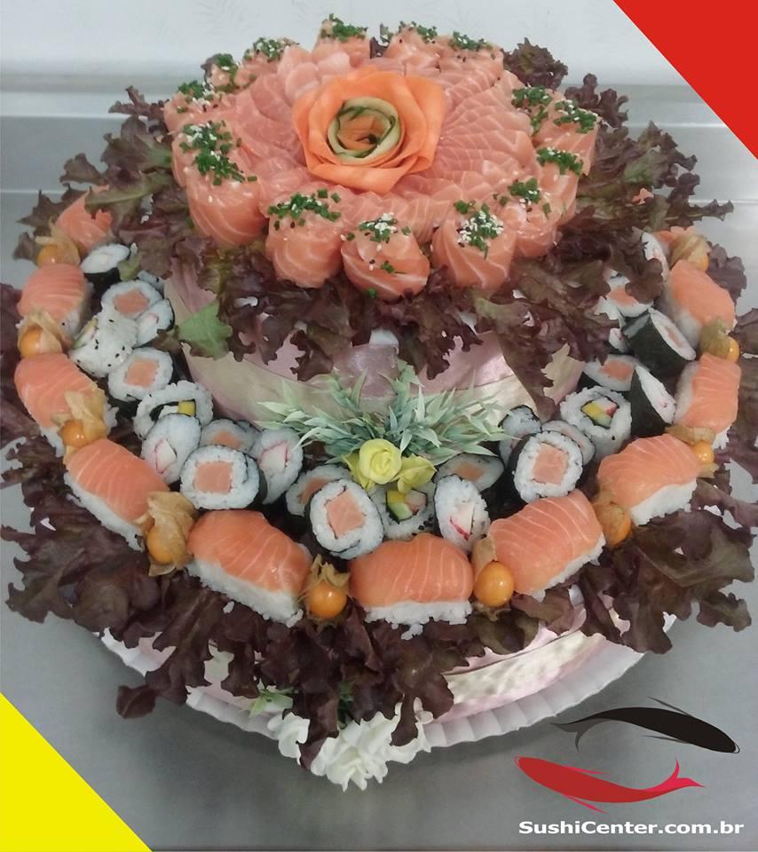Bolo sushi 1