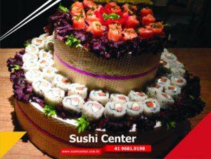 Bolo sushi- 2