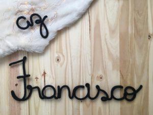 Letras tricô- Partiu Plano B
