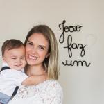 A fisioterapeuta que vende letras de tricô para todo o Brasil