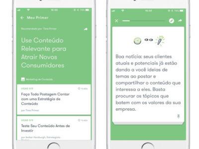 Aprenda Marketing Digital com Primer! Um app do Google com aulas de 5 minutos