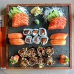 Sócios faturam alto com fast food de comida japonesa