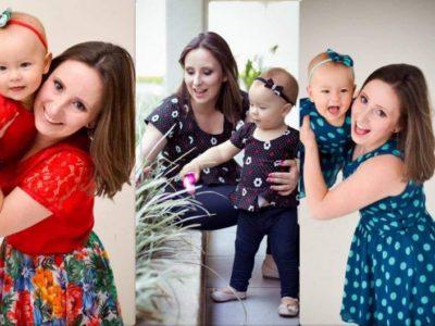 Com a maternidade veio a inspiração para vender roupas iguais para mães e filhas