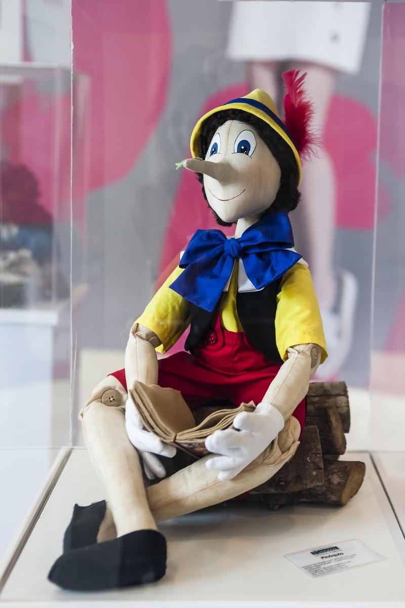 Boneco Pinóquio - Artista Perla Rafaelly