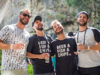 O bar Fish & Chips dos amigos se tornou opção de franquia para outros empresários