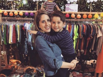 Para abrir um e-commerce com roupas para meninos, ela deixou a estabilidade do serviço público