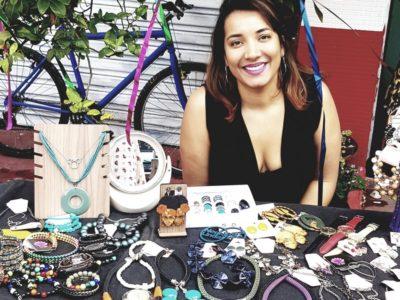 Para se livrar da síndrome de burnout ela pediu demissão e abriu uma loja virtual de acessórios
