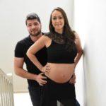 Foi contratada aos 9 meses de gravidez