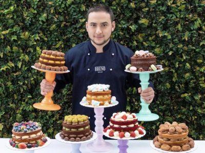 Encontrou realização profissional produzindo bolos