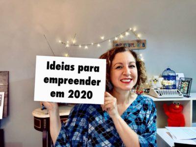Negócios em alta para 2020
