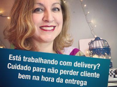 Alerta para quem está fazendo delivery durante a pandemia