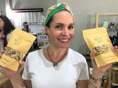 Da área publicitária para a produção de granola vegana