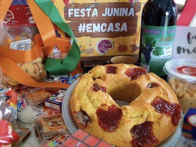 Festa junina na caixa é nova aposta de empreendedores durante a pandemia